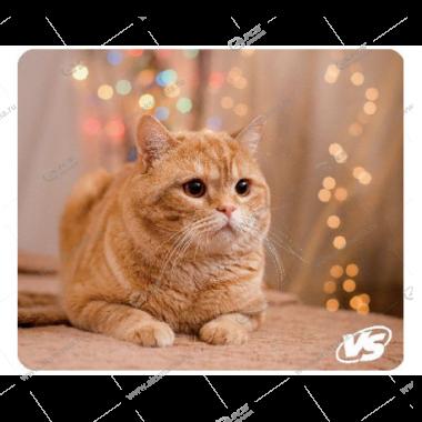 """Коврик для мышки VS """"Cat"""", Рис.8 (194*233*3 мм), полипропилен+вспененный пластик"""