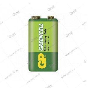 Элемент питания GP 6F22/1SH (крона) Greencell