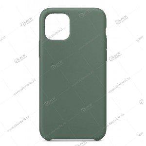 Silicone Case (Soft Touch) для iPhone 5/5S/5SE серо-зеленый