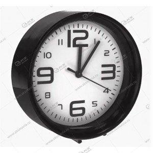 Часы 1002 будильник черный