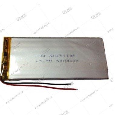 Аккумулятор универсальный 3045110 3400mAh литий-ионный