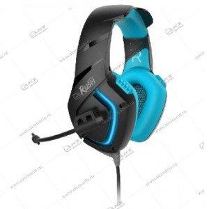 Наушники Smartbuy SBHG-8700 Skythe , кабель 2,2м., динамики 50мм черн/синий