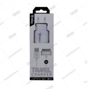 СЗУ inkax CD-08 с USB выходом 1A + кабель 30-pin