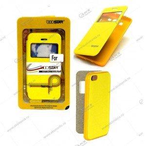 Книга BOOSTAR Asus ZenFone 2 Laser 5,5/ ZE550KL желтый