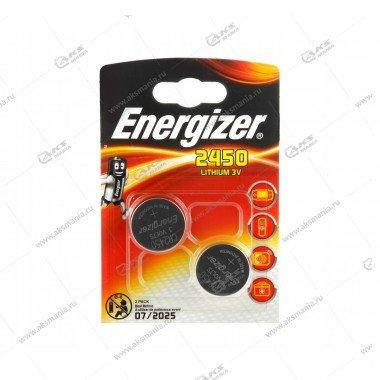 Элемент питания Energizer CR2450/2BL