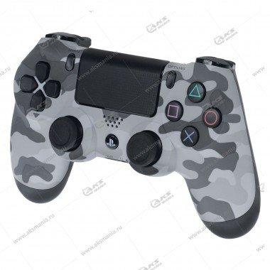 Gamepad PS4 Dualshock 4 wireless камуфляж серый