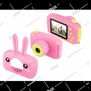 Детский фотоаппарат Zoo Kids Camera заяц розовый