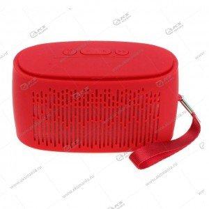 Колонка портативная  RK-906 BT FM TF USB красный