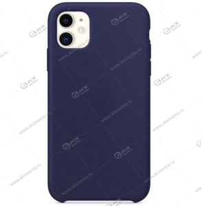 Silicone Case (Soft Touch) для iPhone 11 Pro аспидно-синий