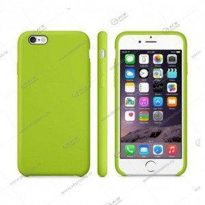 Silicone Case (Soft Touch) для iPhone 6/6S Plus зеленый