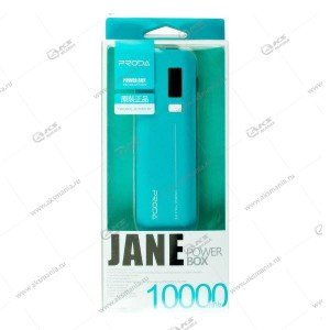 Power Bank Proda Jane PPL-5 10000mAh голубой