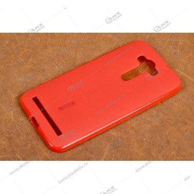 Силикон Cherry Asus ZenFone 2 Laser/ ZE550KL красный