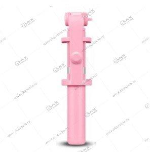 Селфи-палка, Штатив Bluetooth R2 розовый