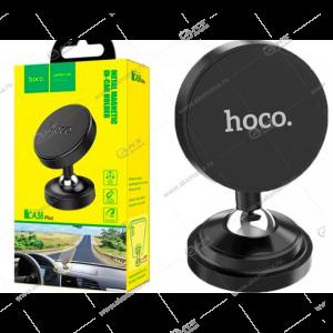 Автодержатель Hoco CA36 Plus для телефона/на торпеду/магнитный черный