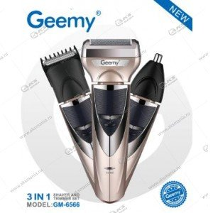 Машинка для стрижки волос Geemy GM-6566