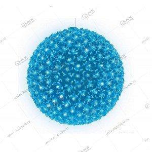 """Светодиодный шар """"Цветы"""" синий"""