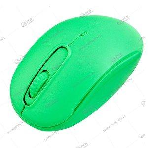 Мышь беспроводная Perfeo COMFORT лайм