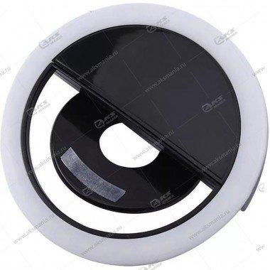 Вспышка-селфи для телефона RK-12 черный