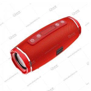 Колонка портативная Borofone BR3 Rich sound sports красная