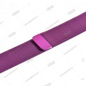 Ремешок миланская петля для Apple Watch 38mm/ 40mm пурпурный