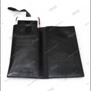 Чехол кошелек Brauffen для Galaxy S5 черный