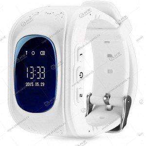 Часы детские Q50 GPS, Будильник, Шагомер белый