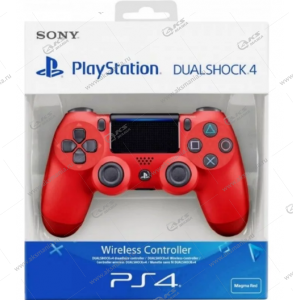Gamepad PS4 Dualshock 4 wireless красный