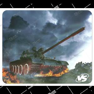 "Коврик для мышки VS ""Tanks"", Рис.7 (194*233*3 мм), полипропилен+вспененный пластик"