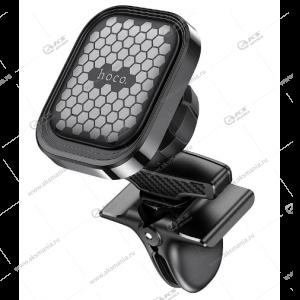 Автодержатель Hoco S49 для телефона/на воздуховод/магнитный черный