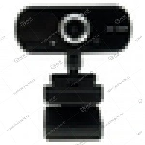 Веб-камера Z09 Full HD 1080P с микрофоном, черная
