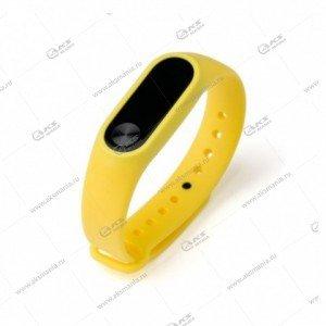 Ремешок на Mi Band 2 желтый