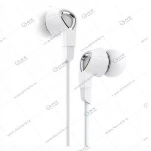 Наушники Borofone BM47 Dream universal с микрофоном белые