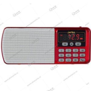 Колонка портативная Perfeo ЕГЕРЬ i120 FM+ 70-108МГц/ MP3/ питание USB или BL5C красный