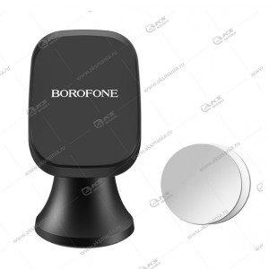 Автодержатель Borofone BH22 Ori aluminum alloy для телефона магнитный на торпеду черный