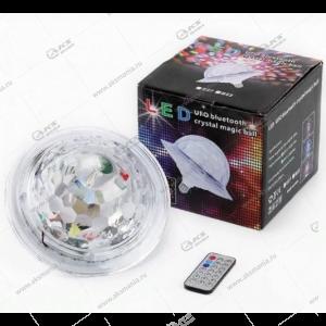 Диско лампочка UFO Bluetooth crystal magic ball