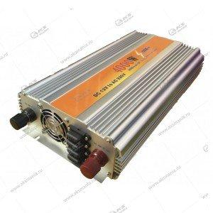 Автомобильный инвертор 12V на 220V 4000W с USB портом