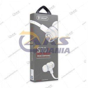Наушники Celebrat S70 white