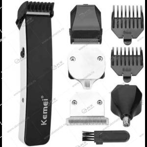 Машинка для стрижки волос 5в1 Kemei KM-3590