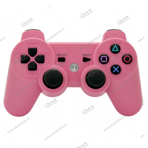 Gamepad PS3 Dualshock 3 wireless розовый