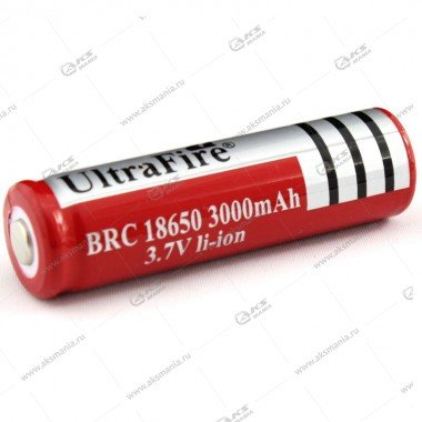 Аккумулятор UltraFire 18650 3000mAh
