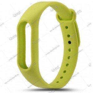 Ремешок на Mi Band 2 зеленый