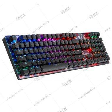 Клавиатура A4Tech Bloody B810R - игровая механическая с подсветкой, USB, черный
