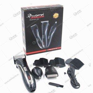 Машинка для стрижки волос 3в1 Gemei GM-593