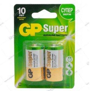 Элемент питания GP LR14/2BL Super