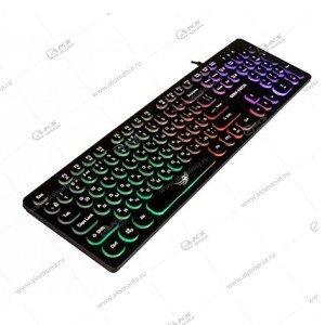 Клавиатура KGK-16U Dialog Gan-Kata - игровая с RGB подсветкой, USB, чёрная