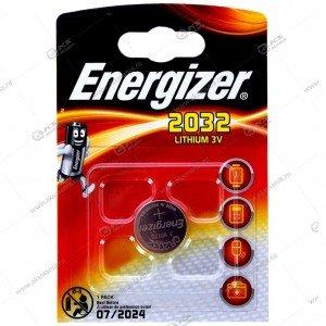Элемент питания Energizer CR2032/1BL