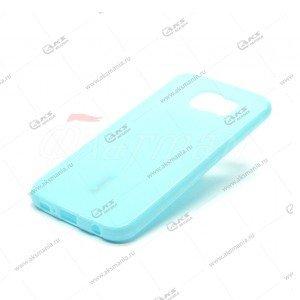 Силикон Cherry LG E960 голубой