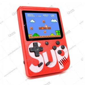 Карманная портативная игровая приставка Sup Game box 400in1 красная