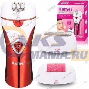 Эпилятор-бритва женская 3в1 Kemei KM-1107