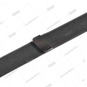Ремешок миланская петля для Apple Watch 38mm/ 40mm темно-серый